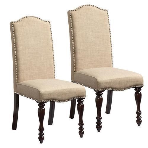 Standard Furniture - McGregor 2-Pack Upholstered Side Chairs, Beige