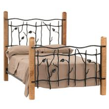 View Product - Sassafras King Iron Bed