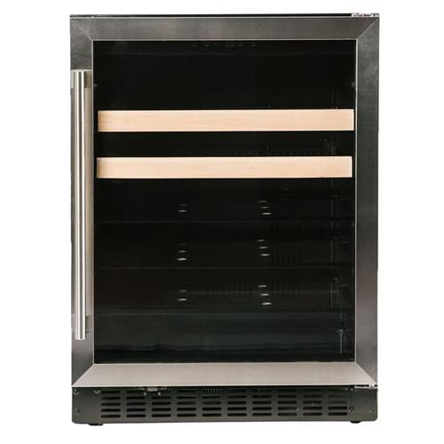 "Beverage Center 1.0 - 24"" Glass Door w/ Stainless"