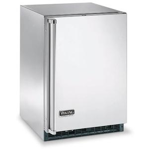 "Stainless Steel 24"" Beverage Center - VUAR (Solid Door (left hinge))"