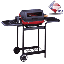 See Details - 9359W Deluxe Electric Cart Grill