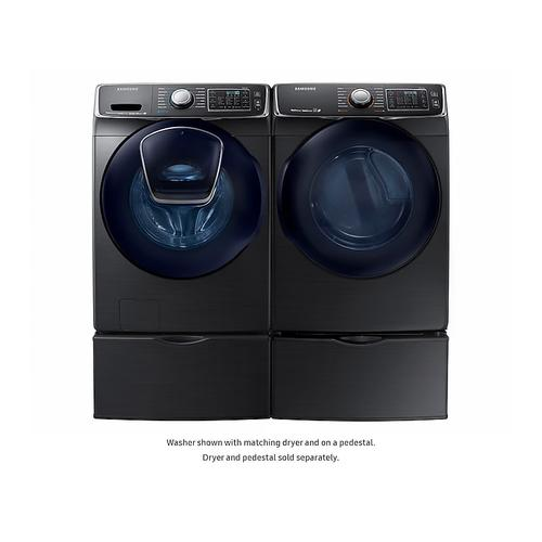 5.0 cu. ft. AddWash™ Front Load Washer in Black Stainless Steel
