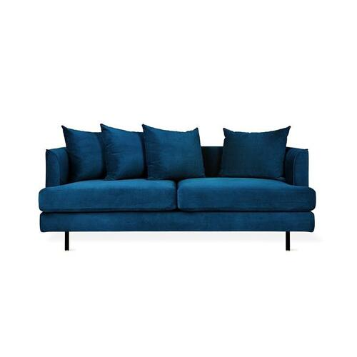 Product Image - Margot LOFT Sofa Velvet Midnight / Black