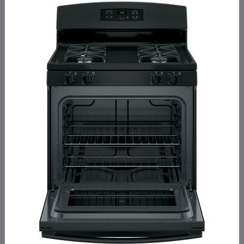 "GE 30"" Gas Free Standing Range Black JCGBS60DEKBB"