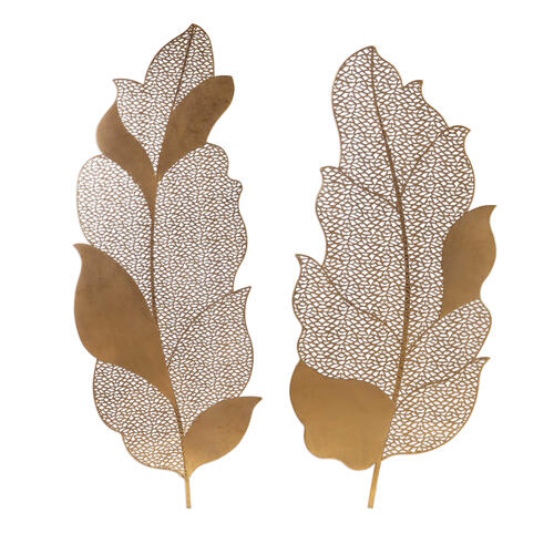 Uttermost - Autumn Lace Metal Wall Decor, S/2