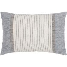 """View Product - Linen Stripe Buttoned LNB-004 13""""H x 20""""W"""