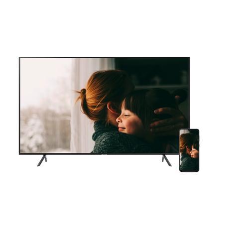 "Samsung - TV & Phone Bundle - Galaxy A50 with 43"" RU7100 4K UHD Smart TV"