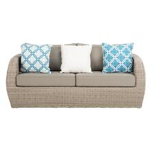 Elora Wicker 3 - Seater - Light Grey