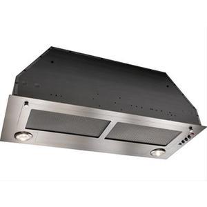 "27-9/16"" Stainless Steel Built-In Range Hood with 450 CFM Internal Blower"
