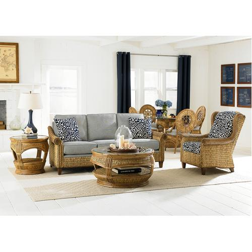 Capris Furniture - 690 Living Collection-seagrass