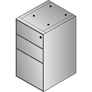 Kenwood Box/box/file Credenza Pedestal