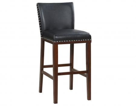 Tiffany KD Bar Chair, Black