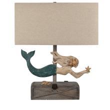 Mermaid Treasure Table Lamp
