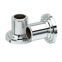 Marina Shower Rod Ends in Chrome