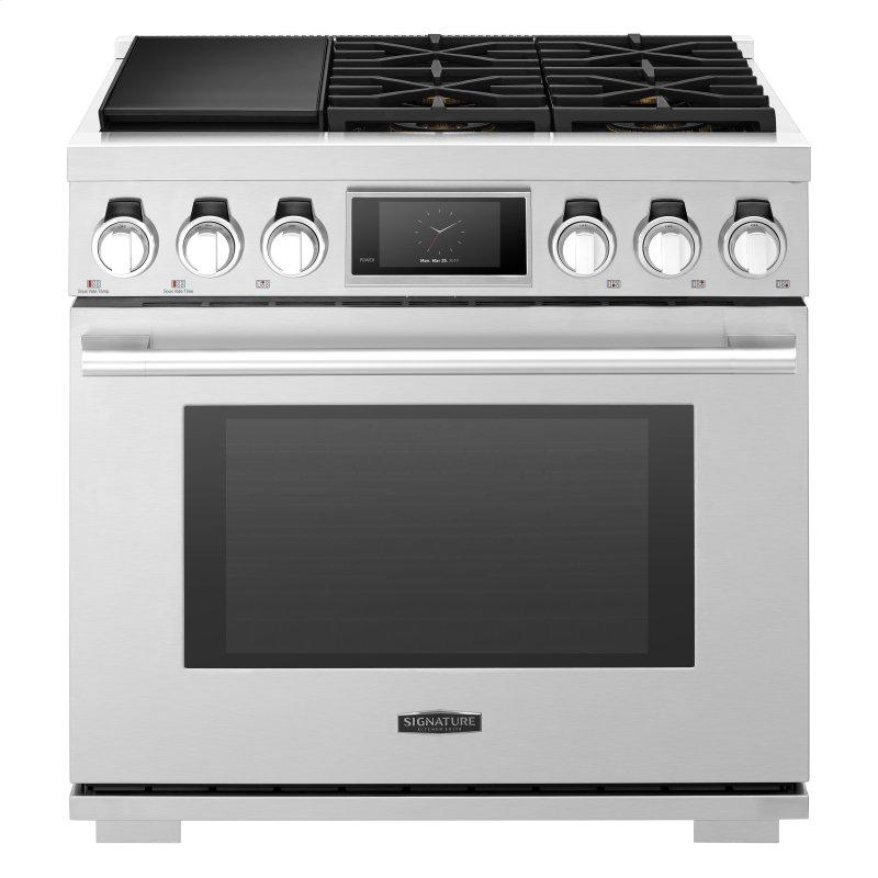 36-inch Dual-Fuel Pro Range with Steam-Combi Oven and Sous Vide