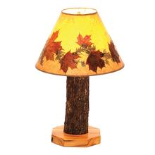 See Details - Table Lamp - Natural Hickory