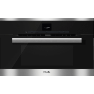 MieleH 6670 BM - 30 Inch Speed Oven with combi-modes and Roast probe for precise-temperature cooking.