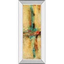 """Equilibrio I"" By Nancy Villarreal Santos Mirror Framed Print Wall Art"