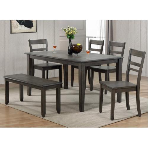 Dining Set - Shade of Gray (6 Piece)