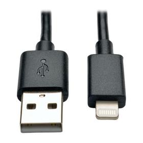 USB Sync/Charge Cable with Lightning Connector, Black - 10 in. (0.3m)