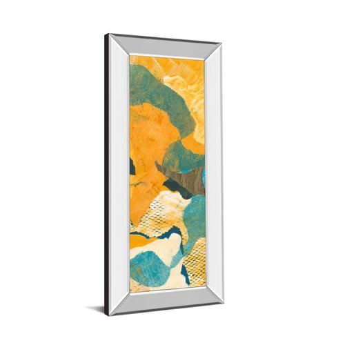 """Mountain Shapes Il"" By Carolyn Roth Mirror Framed Print Wall Art"