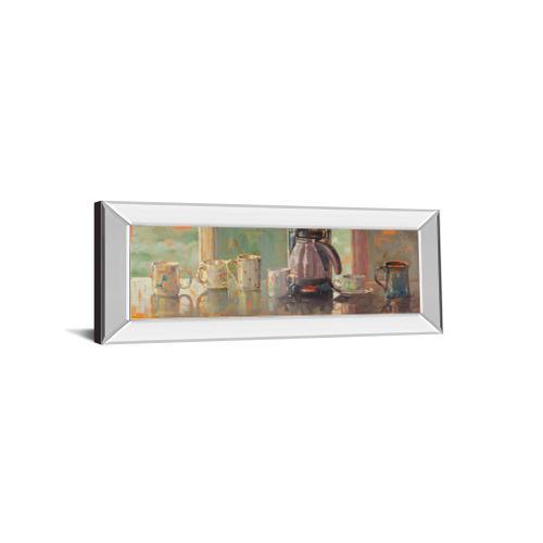 "Classy Art - ""Gathering I"" By Lorraine Vail Mirror Framed Print Wall Art"