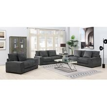 See Details - Big Chill Pewter Sofa, Loveseat, 1.5 Chair & Swivel Chair, U4438