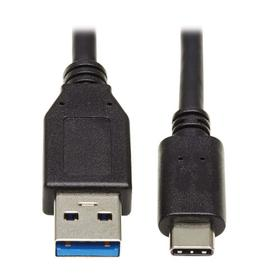 USB-C to USB-A Cable (M/M), USB 3.1 Gen 1 (5 Gbps), Thunderbolt 3 Compatible, 20-in.