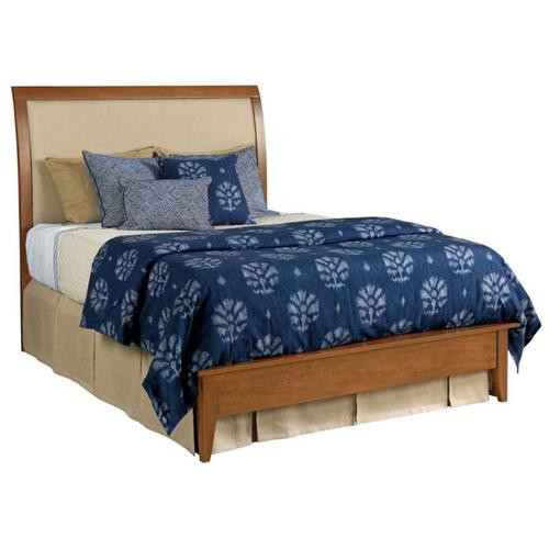 Meridian Queen Bed Honey - Complete