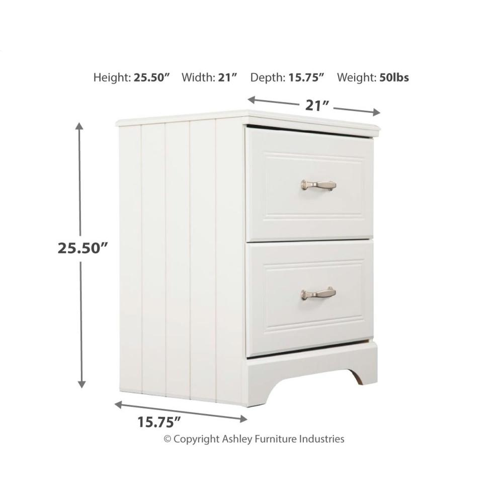 Product Image - Twin Over Twin Bunk Bed With Nightstand