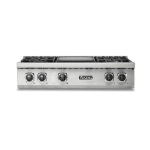 "36"" 5 Series Gas Rangetop - VRT Viking 5 Series"