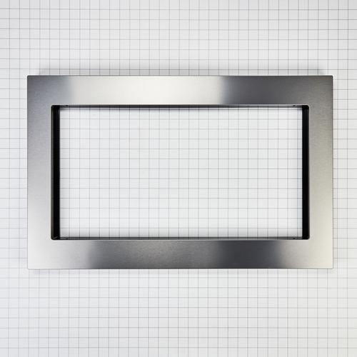 Over-The-Range Microwave Trim Kit, Anti-Fingerprint Stainless Steel - Fingerprint Resistant Stainless Steel