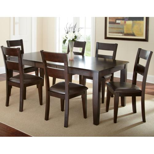 """Victoria 60-70-inch Dining Table w/18"""" Butterfly Leaf"""