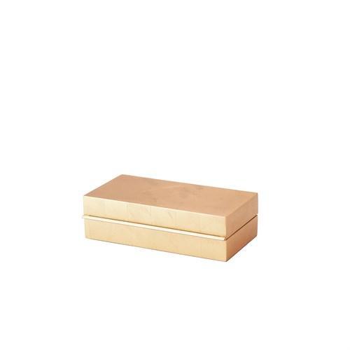 Nouveau Luxe Box-Gold Leaf-Lg