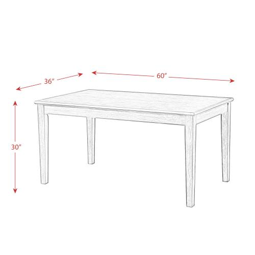 South Paw Dining Table
