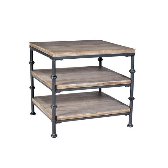 Riverside - Revival - Side Table - Spanish Grey Finish