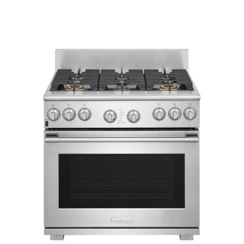 36'' Dual-Fuel Freestanding Range