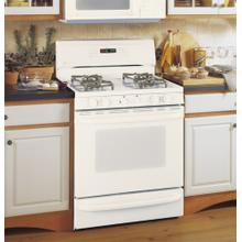 "GE Profile Performance Spectra 30"" Free-Standing Smooth-Top Convection Gas Range with Warming Drawer"