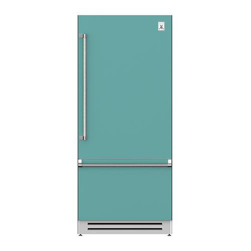 "Hestan - 36"" Bottom Mount, Bottom Compressor Refrigerator - KRB Series - Bora-bora"