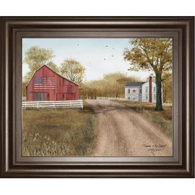 """Summer In The Country"" By Billy Jacobs Framed Print Wall Art"
