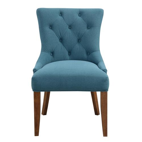 Emerald Home Marvelle D355-22-04 UPH.DINING Chair -blue,