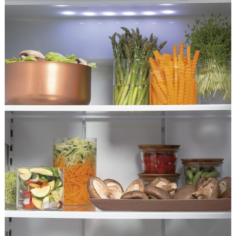 "Café™ 48"" Smart Built-In Side-by-Side Refrigerator"