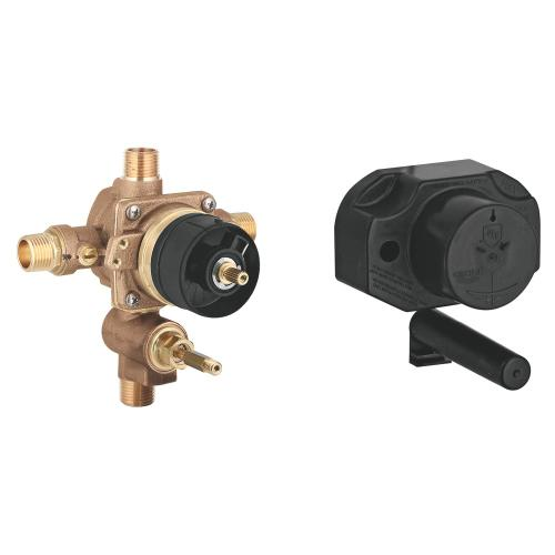 Non Rapido Pressure Balance Rough-in Valve With Built-in Diverter