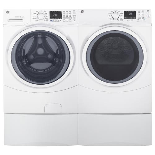 GE 7.5 Cu. Ft. Front Load Energy Star Electric Dryer with Steam White - GFD45ESMMWW