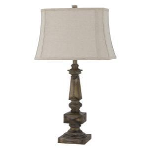 Cal Lighting & Accessories - Dothan Resin Table Lamp
