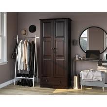 5646 - 100% Solid Wood Flexible Wardrobe - Java
