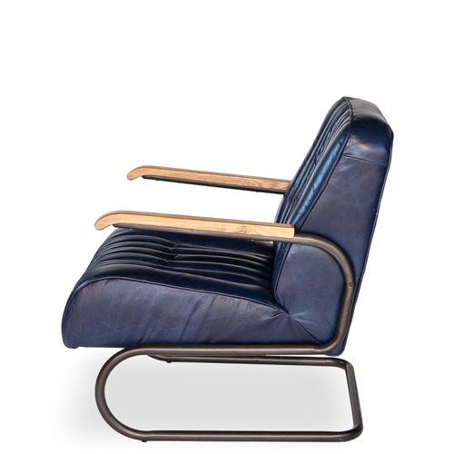 Bel-Air Arm Chair, Blue