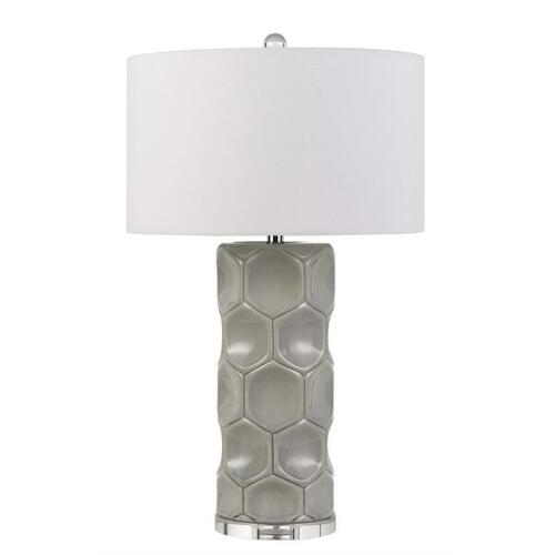 150W 3 Way Melfi Ceramic Table Lamp