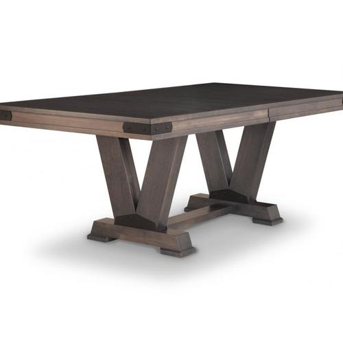 - Chattanooga Pedestal 42x84+2-12 Dining Table