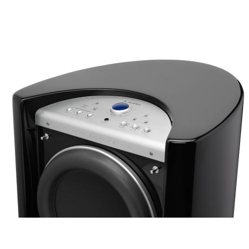 JL Audio - Dual 13.5-inch (345 mm) Powered Subwoofer, Black Gloss Finish